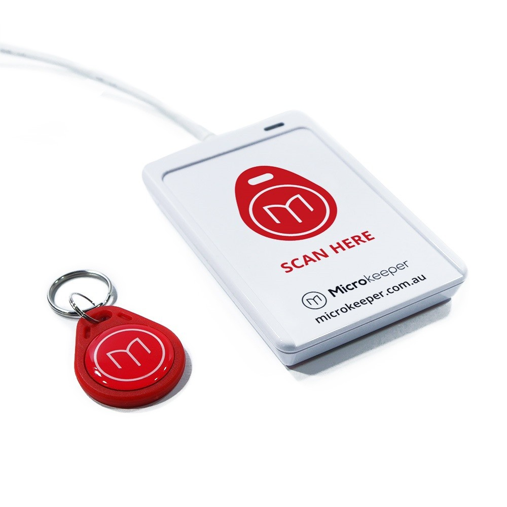 Microkeeper NFC Scanner Fob