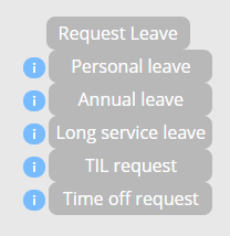 Leave Request Options