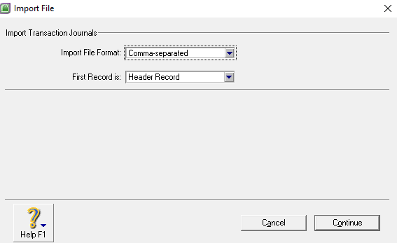 MYOB Import File